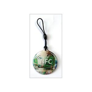 Customised RFID Epoxy Keyfob Printing