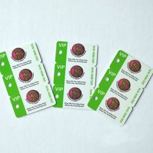 3 Up Key Tag Card Printing