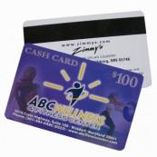 CR80 30 mil Plastic Hico Magnetic Card Printing